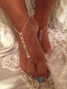 Barefoot Wedding Sandals – On the beach brides