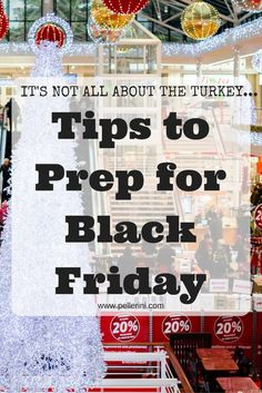 If you are going to brave Black Friday, then you will need to check out my tips how to properly prep for some fun, but crowded, hours of shopping!