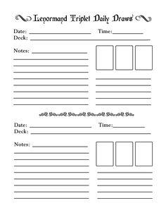 tarot journal template the tarot workbook by nevill drury tarot journals and templates. Black Bedroom Furniture Sets. Home Design Ideas