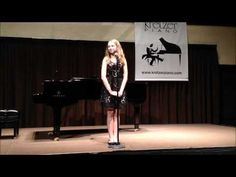 Emily Rynasko performs at Kretzer Piano's 2013 Music for the Mind concert featuring the Kretzer Kids.