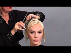 Perfect Bob/Versatile ... Candy Shaw shares How to cut an Ear to Ear guide in a Bob - YouTube