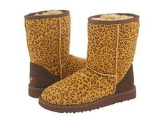 Leopard Classic Short UGG Boots- Newest Purchase Goddard Classic Ugg Boots, Ugg Classic Short, Nike Heels, Leopard Boots, Fur Boots, Uggs For Cheap, Ugg Boots Australia, Bearpaw Boots, Fashion Boots
