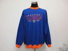 Vtg 90s Lee Sport Florida Gators Crewneck Sweatshirt sz 2XL XXL SEWN University #LeeSport #FloridaGators
