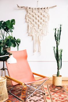 Hello, hanging macrame perfection.