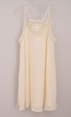 Ivory babydoll dress - H&M