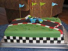 race car birthday cake - Google Search