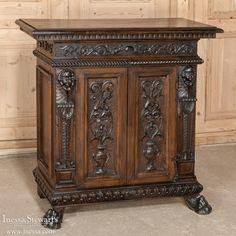 Antique Furniture   Renaissance/Gothic Buffets   Italian Renaissance Buffet   www.inessa.com