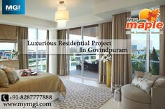 Smart #interior spaces and #luxurious amenities are perfect abodes for an exquisite #lifestyle. Located at the heart of the booming town of NCR-Ghaziabad, these premium #flats at #MGI_Maple enjoy proximity to all landmarks and utility centers. See more @ http://bit.ly/1soao5u