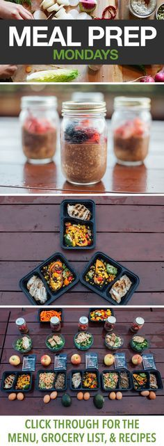 Meal Prep This Week with Stuffed Sweet Potatoes, Chicken with Broccoli, and More! Click through for all the details on this delicious meal prep menu. // 21 Day Fix approved // meal prep Monday // healthy eating // clean eating // overnight oats // beachbody // beachbody blog