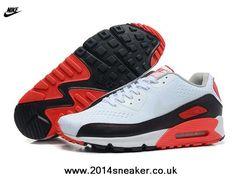 Nike Air Max 90 EM White/White/Black/Infrared