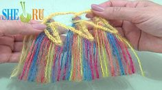 How to Make Tassels On Hairpin Loom Tutorial 34 Edging Ideas