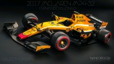 2017 McLaren MP4-32 - Fernando Alonso -