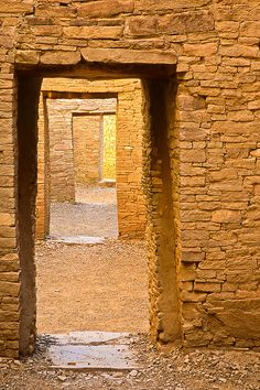 Chaco Canyon ruins. This picture is awesome