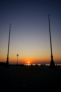 Trieste - Alabarde | Flickr - Fotosharing! Trieste, Italy, Celestial, Explore, Sunset, Outdoor, Outdoors, Italia, Sunsets