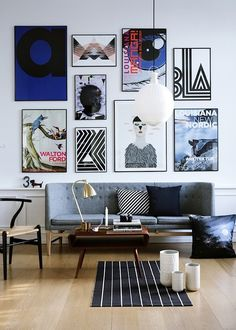 musesofdesign:  (via French By Design: Mix: The art of displaying art)