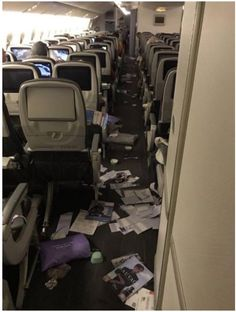Severe turbulence injured 11 passengers and wrecked inside a plane's cabin during a 13 hour flight this week. Pictures of the aftermath of the Eva Air flight from Taiwan to. Aviation News, Plane, Kettle, Chicago, Fish, Airplane, Pour Over Kettle, Teapot, Airplanes