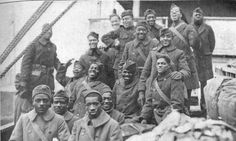 The 369th Infantry were an all African American regiment during ww1. Before going to combat they faced racism and received little training. They proved themselves by refusing to surrender and never losing one any of their men that were captured.