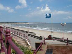 Bridlington beach, Bridlington England.  I got engaged on this beach!