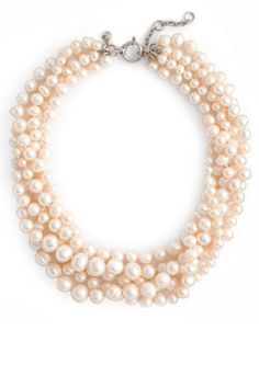 Freshwater Pearl Necklace, $298 by J.Crew