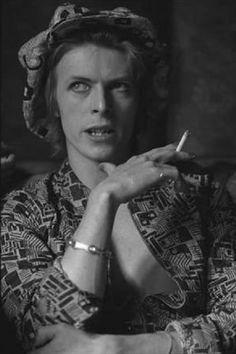 David Bowie, Haddon Hall, 24 April 1972