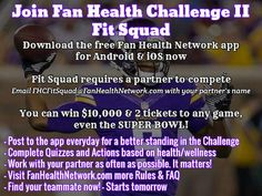 Vikings Fans Join Fan Health Challenge II Win Tickets To The Super Bowl