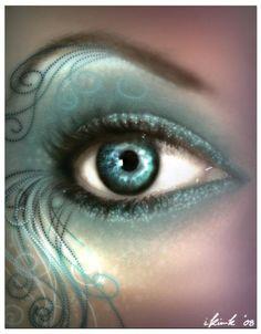 Halloween Makeup wooooow that is nice Halloween Eyes, Halloween Eye Makeup, Maquillage Halloween, Pretty Eye Makeup, Pretty Eyes, Beautiful Eyes, Amazing Eyes, Fx Makeup, Body Makeup