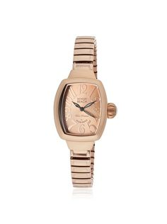 Glam Rock Women's MBD27092 Miami Beach Rose-Tone Stainless Steel Watch