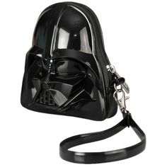 Bolsinha no formato do capacete do Lord Vader!