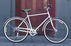 green Brooks saddle! #bike #bicycle