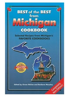 Best of the Best from Michigan CookBook | Books, Michigan, Cookbook,Kitchen | Catching Fireflies