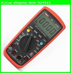 ALKcar LCD Display UNI-T UT139C True RMS Electrical Digital Multimeters LCR Meter UT139C UNI T Multimetro Ammeter Multitester