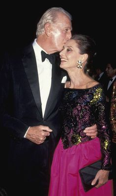 Audrey & Givenchy (her designer yes, more importantly her friend for life who knew how to dress her well).