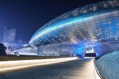 Futuristic Architecture. Zaha Hadid's Dongdaemun Design Plaza Opens In Seoul, South Korea (+VIDEO)