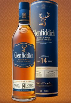 Glenfiddich 14 Years Old Bourbon Barrel Reserve • Welcome to the latest addition to the Glenfiddich permanent lineup. Matured exclusively in bourbon casks for 14 years, it is finished in heavy charred new American oak barrels (finishing time unstated). No question, this is classic, unsherried Glenfiddich through and through. Glen-fiddie loves to play with new oak here and there, and it does quite a number on this whisky, imbuing the nose with notes of ripe cherries, big vanilla caramel...