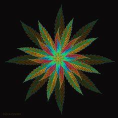 My Photoshop cannabis leaf art #theweedartlady #weedart #legalize #cannabiscommunity #art #digitalart #photoshop #maryjane #marijuana #cannabis #weed #trippy #psychedelic #ganja #420