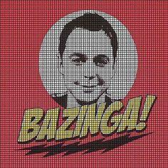 The Big Bang Theory Sheldon Crochet Pattern