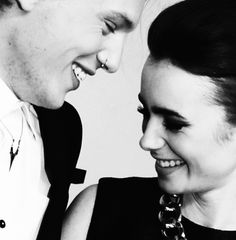 Jamie Campbell Bower and Lily Collins (aka Jamily)