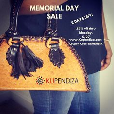 off everything through Bi sale! Pictured: Mahaica handbag from Guyana. Coupon Codes, Memorial Day, Leather Bag, Purses And Bags, Handbags, Instagram Posts, Hand Bags, Bags, Leather Satchel