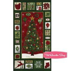 Christmas Countdown Yardage Deb Strain for Moda Fabrics - Fat Quarter Shop