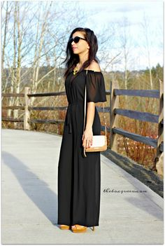 Dailylook Weekending Convertible Off Shoulder Jumpsuit | DAILYLOOK ELITE REVIEW MARCH 2017 | Dailylook Elite Review | Personal Styling Service | Spring Style | Spring Fashion | Online Styling Services | Off the Shoulder Jumpsuit