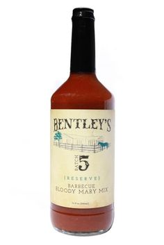 Bentley's Batch 5 Reserve Bloody Mary Mix