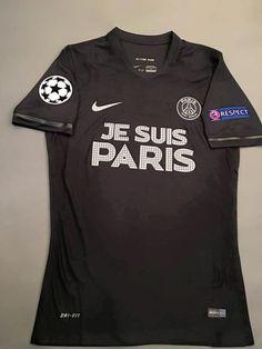 e8ef8c04 Men's 2015/16 PSG Je Suis Paris Zlatan Ibrahimović Match Soccer Jersey