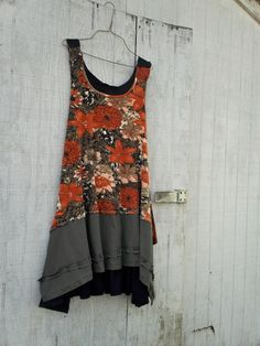 RESERVED for Lisa - upcycled clothing by CreoleSha - Funky Earthy Woodland…