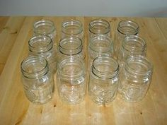 How to Sterilize Canning Jars Without Boiling - need to remember this method of oven heating.