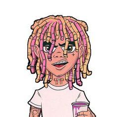 Lil Pump Cartoon Lean