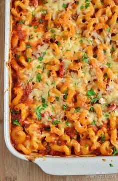 Slimming Eats Chicken, Bacon and Tomato Pasta Bake - gluten free, Slimming World and Weight Watchers friendly