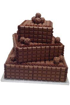 Wedding Magazine - Wedding Cakes - Chocolate Cakes - Genuine Cakes Cadbury's cake