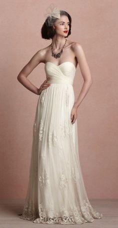 BHLDN catherine deane luella gown.