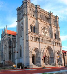 Roman Catholic Cathedral Basilica of the Assumption in Covington, KY. My Huesman ancestors attended this church.