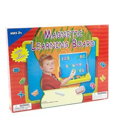 Take a look at this Magnetic Learning Board by Midwestern Home Products on #zulily today!